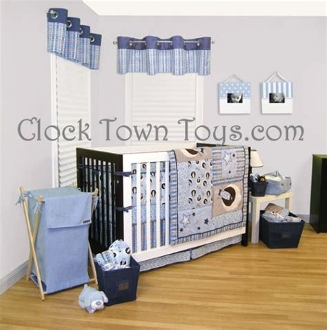Space Crib Bedding 6pc Space Rockets Blue Infant Baby Crib Bedding Set 106620