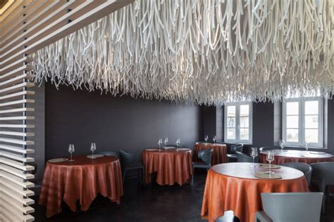 designboom quentin de coster lianes by quentin de coster for l air du temps restaurant