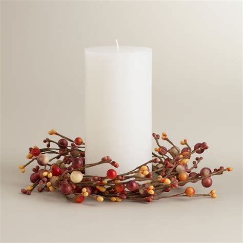 winter candle rings 1000 images about fall candle rings on