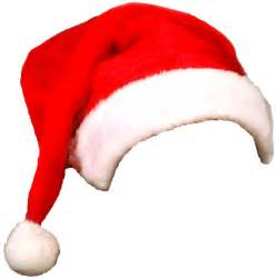 santa hat on picture cliparts co
