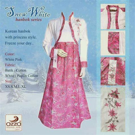 Hanbok Katun grosir gamis hanbok snowwhite
