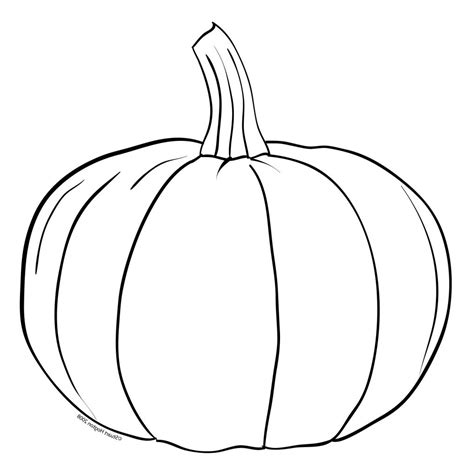 A Drawing Of A by Simple Pumpkin Drawing Cyberuse