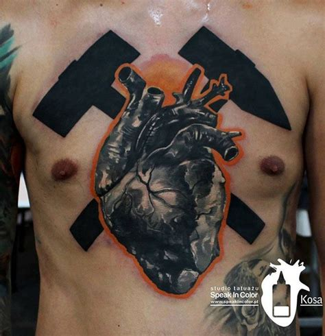 3d heart tattoo 17 best images about best 3d tattoos in the world on