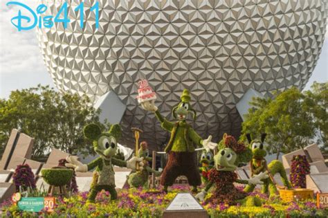 Epcot Flower And Garden Show 20th Epcot International Flower Garden Festival Runs From March 6 May 19