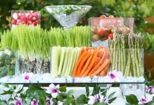 veggie centerpiece arrangements weddings by lilly