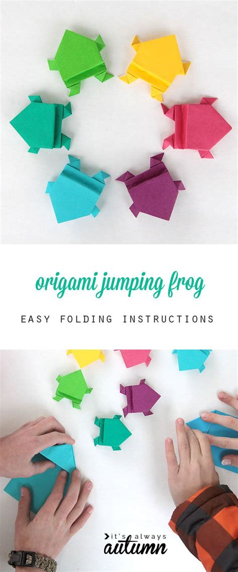 25 Best Ideas About Origami Frog On Easy - best 25 origami ideas on easy origami
