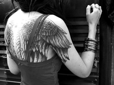 angel tattoos tumblr on