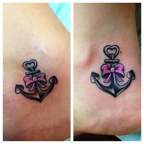 anchor with bow bow