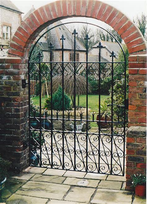 Iron Garden Gates by Wrought Iron Garden Gates