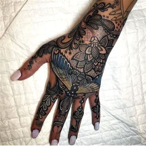 girly hand tattoos feminine tattoos inked magazine tattoos and