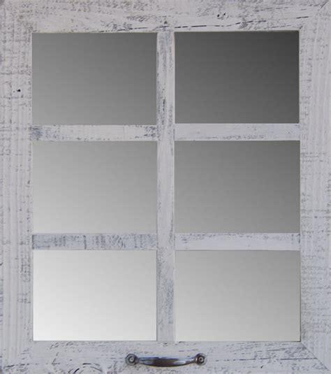 mirror window wall decor barn wood 6 pane window mirror rustic style home decor