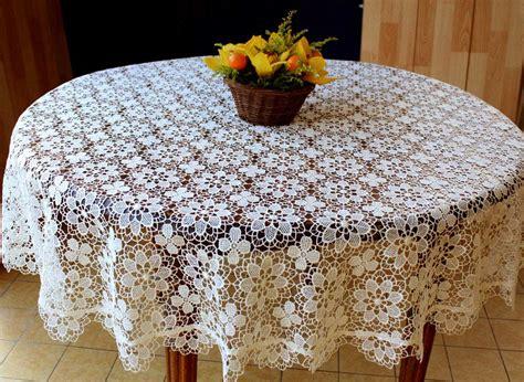 nappe ronde au crochet nappe au crochet nappe crochet nappe ronde aspect dentelle