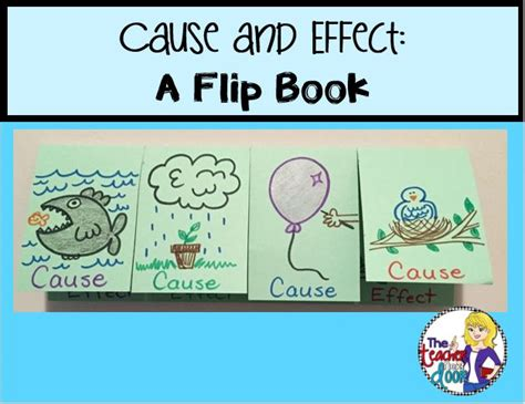 cause and effect picture books elementary snapshots texts charts and classroom