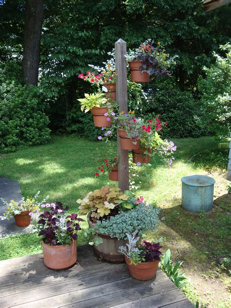 Planter Gardening Ideas by Container Plant Garden Ideas On Planters