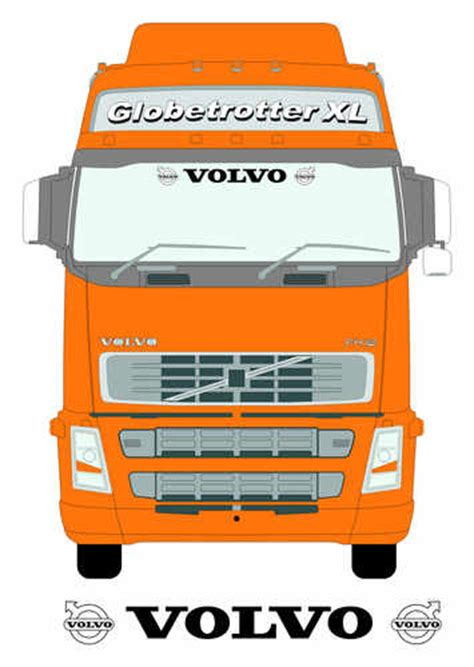 Lkw Aufkleber Volvo by Volvo Truck Screen Sticker