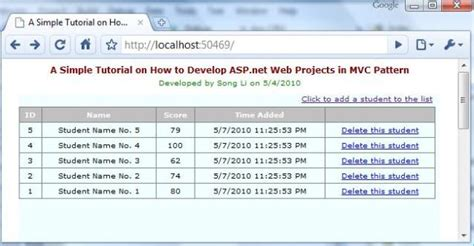 tutorial asp net programming a simple tutorial on developing asp net applications in