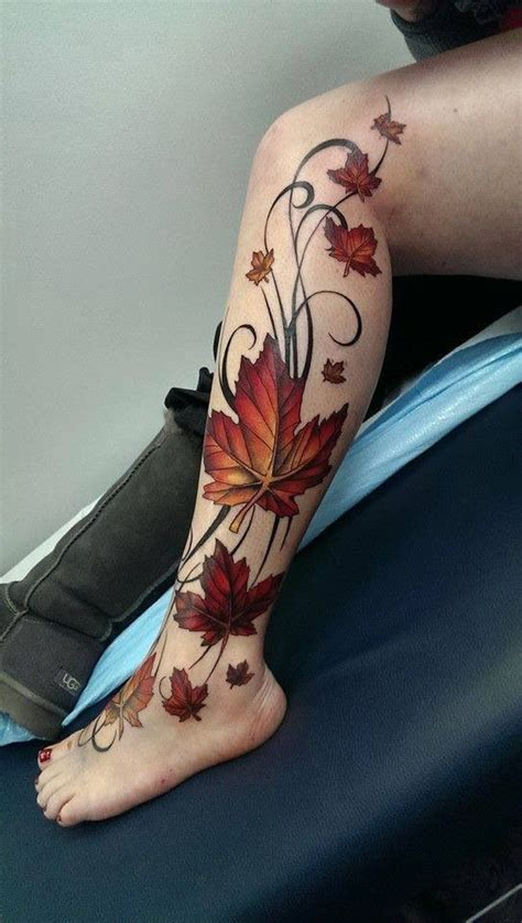 tattoo placement considerations 25 best ideas about fall leaves tattoo on pinterest