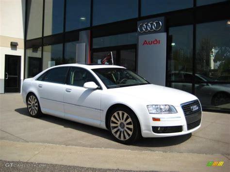 Audi A8 2007 by 2007 Ibis White Audi A8 L 4 2 Quattro 28527584 Gtcarlot