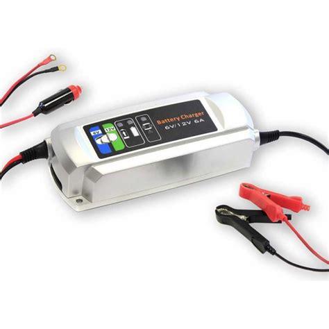 smart charger 12v smart charger 6 12v 6a batterie bateau et cing car