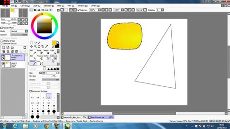paint tool sai 2 vs 1 tutorial ferramentas do paint tool sai