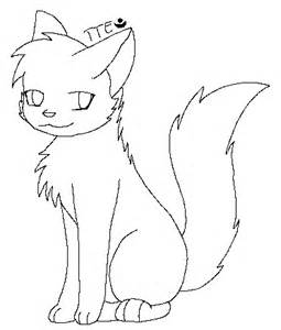 cat drawing template cat template by twilighttheeevee on deviantart