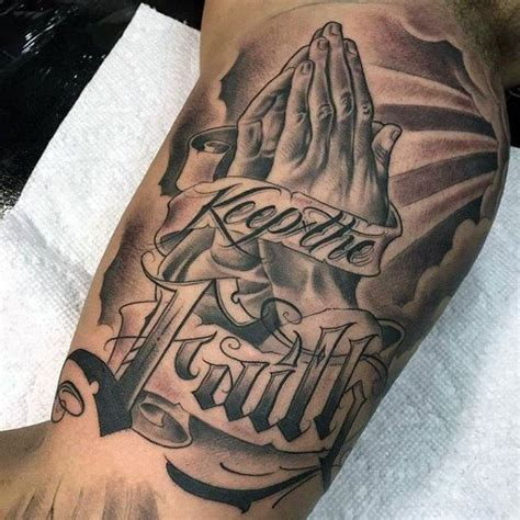 tattoo design for men hand praying pictures tattoos