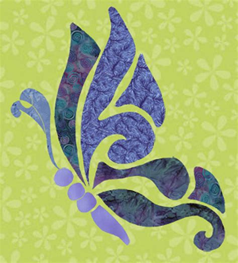 etsy butterfly pattern items similar to freestyle butterfly fabric applique