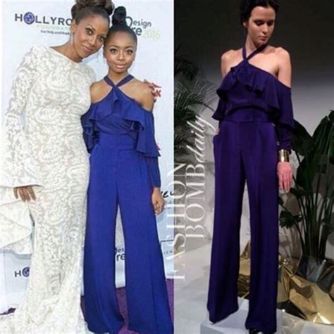 Who Wore Godfrey Better by Or Hmm Skai Jackson S 18th Annual Designcare Gala
