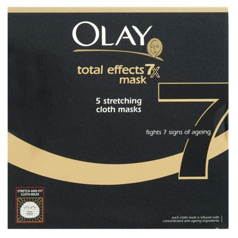 Masker Olay by Olay Total Effects Mask 7 In 1 Anti Ageing 5