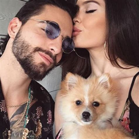 maluma and girlfriend natalia barulich get matching