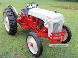 Ford 8n Tractor Specs 1952 Ford 8n Tractor Completely Restored