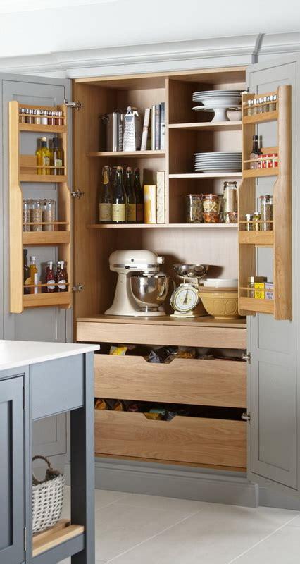 double larder unit  internal drawers cci
