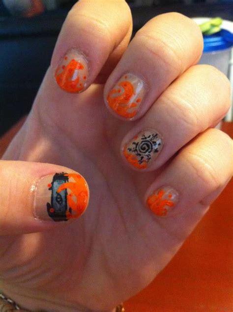 naruto nail art tutorial naruto nail art by ineedacat9 on deviantart