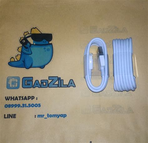 Kabel Data Ori Iphone 5s jual kabel data original ori 100 iphone 5 5s lightning apple for mini nano 7 iphone5