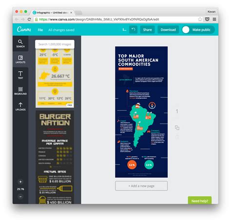 canva infographic 7 easy tools to create an awesome infographic in 30 minutes