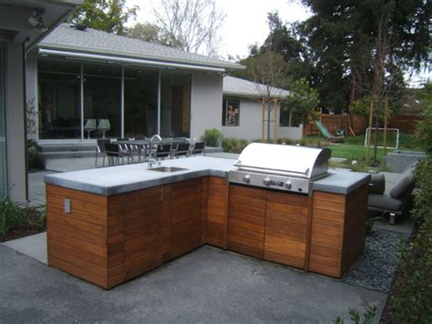 love the wood cabinets for the outdoor kitchen where can i get them what type of wood are they