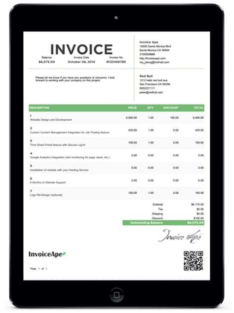 invoice proposal template hardhost info