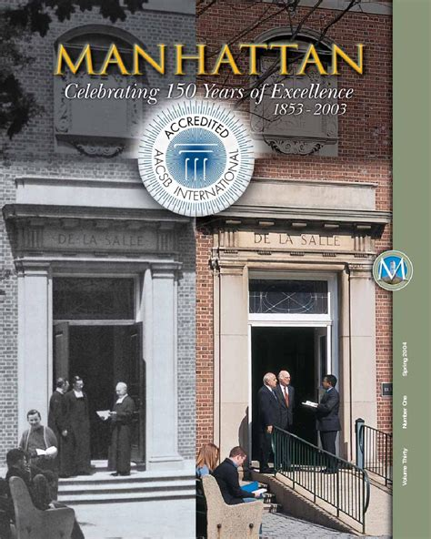 Manhattan College Mba Accredited by Manhattan Magazine 2004 By Manhattan College Issuu