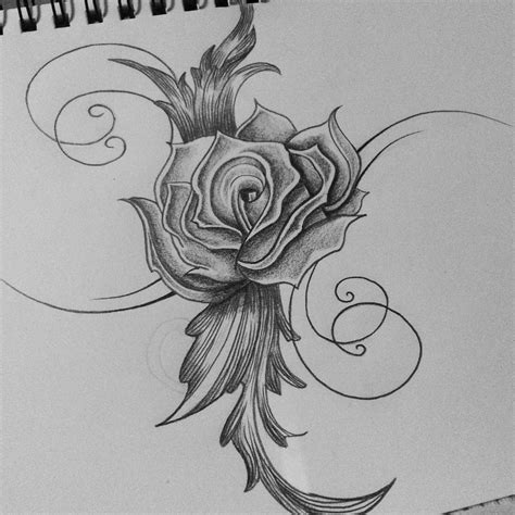 artistic rose tattoos tribal drawing cassandrawilsonenvyd by