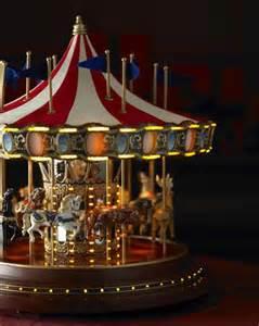 Christmas Tree Backdrop - mr christmas musical carousel merry go round holiday decor
