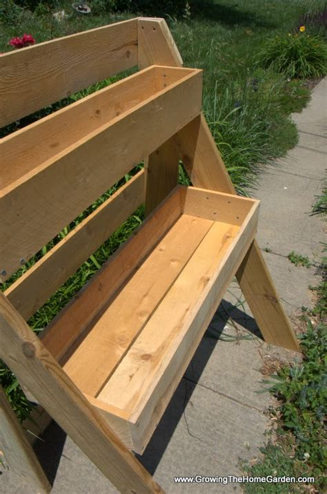 How To Make A Raised Planter Box by Build Garden Box Garden Planter Box Made Of Redwood