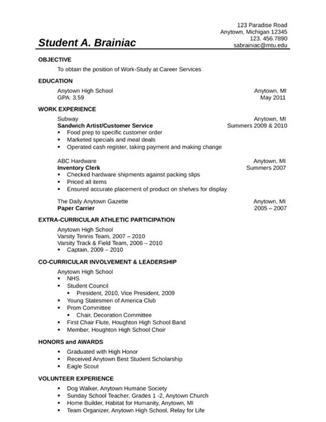 resume sles for food service worker food service worker resume resume ideas