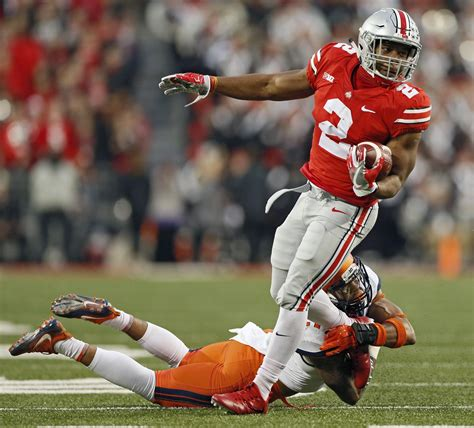 columbus dispatch sports section ohio state wisconsin title game features two top