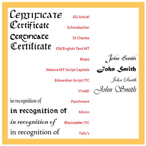 certificate design sle photoshop 13 traditional font styles images american traditional