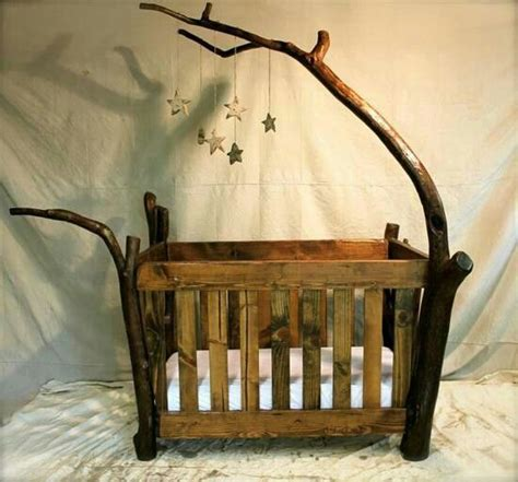 Handcrafted Baby Cribs - grandbabys bed beautiful for the home