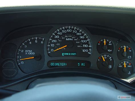 2005 chevy silverado instrument cluster lights image 2005 chevrolet tahoe 4 door 1500 4wd ls instrument