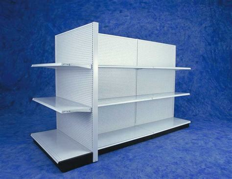 Madix Gondola Shelving & Black Gondola Shelves for