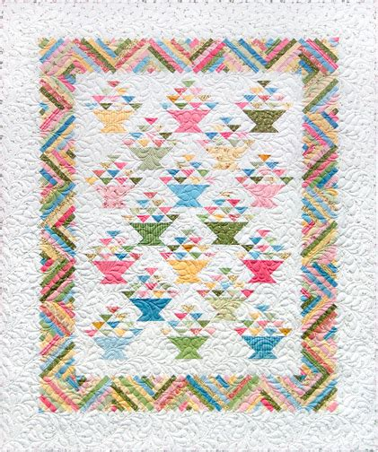 Basket Quilt Patterns from marti michell s basket quilt pattern