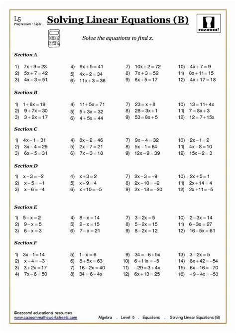grade algebra problems worksheet word problems