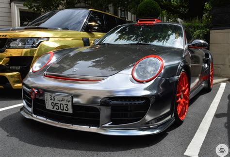 porsche chrome chrome porsche 997 gt2 spotted in